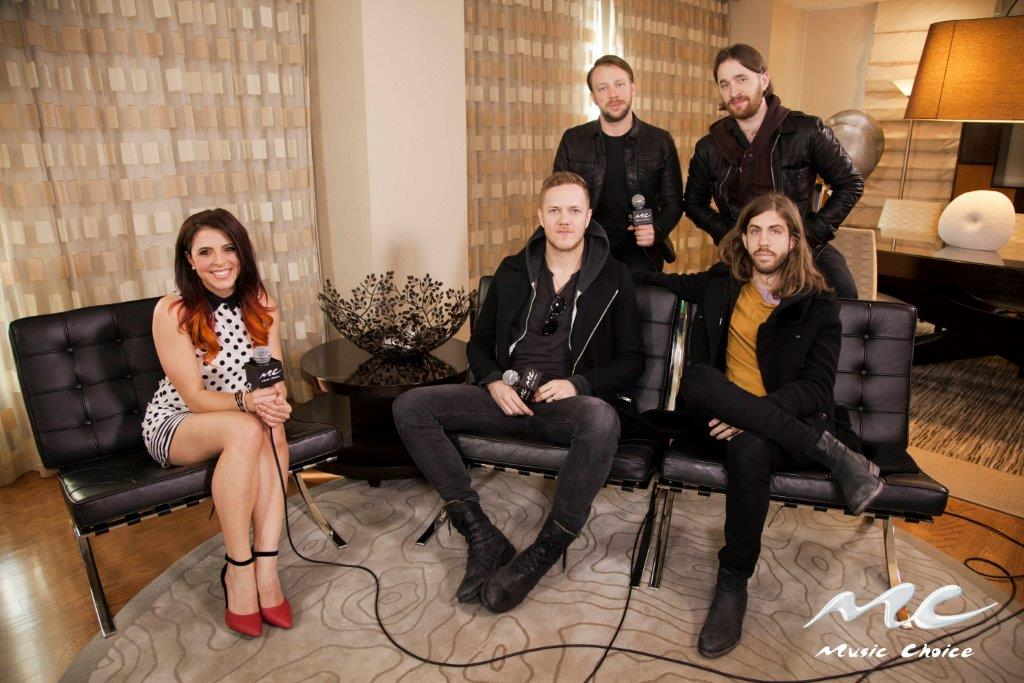 Clare and ImagineDragons