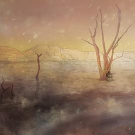 A War Beneath the Clouds concept art
