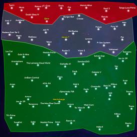 Concept Art of the Earth Saga Galaxy