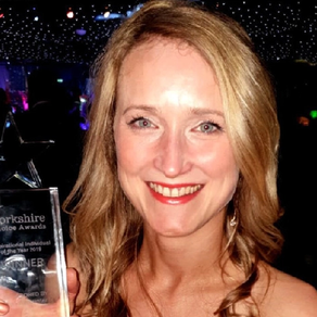 Inspirational widow wins Yorkshire Choice Award