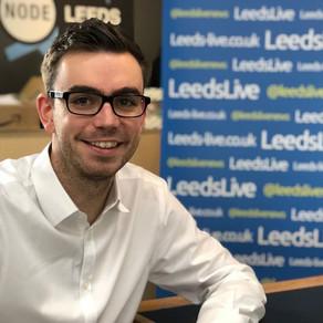 LeedsLive reporter Kristian Johnson nominated for top Yorkshire award