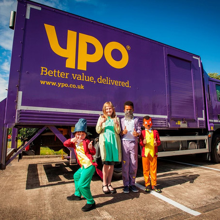 YPO are involved for a fourth year, sponsoring our Customer Service Award