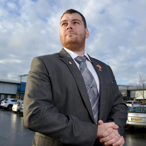 Daniel Mottram, 29, of White Star Security Services, on the shortlist for Yorkshire Choice Awards