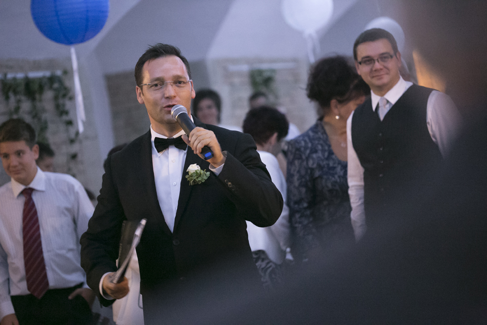 Csiki Levente Ceremóniamester