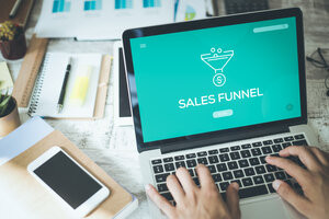 Turn Your Content into Cash With a Three-Part Sales Funnel