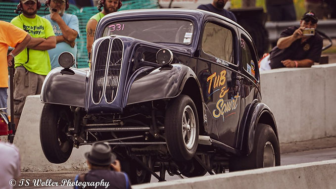 """""""The Fall-Out #5"""" Presented by Vintage Drag Racing 101"""