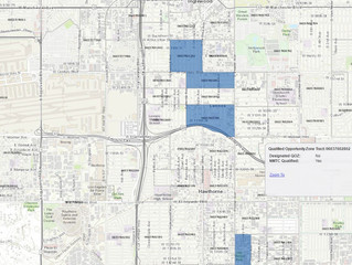 Opportunity Zone Tax Incentives for Investment in Low Income Communities