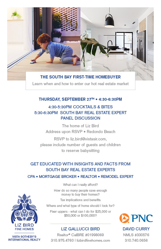 Invite to First Time Home Buyer Tips Event
