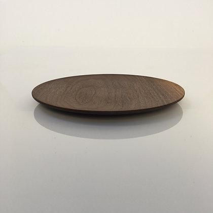 American Walnut Dinner Plate
