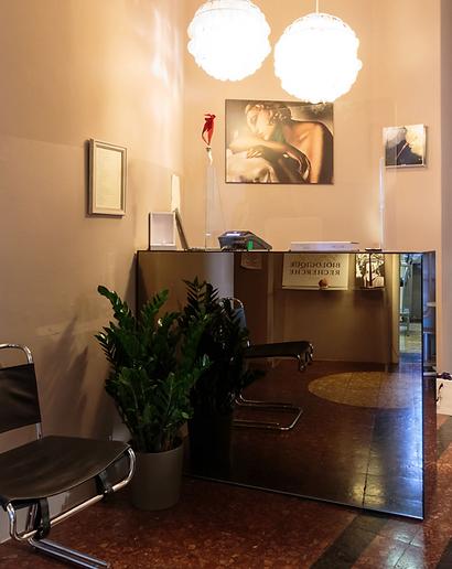 Sala di attesa - centro di estetica arezzo