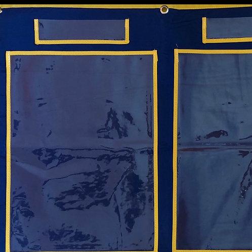 Painel Porta Trabalhinhos - expositor 26 bolsos