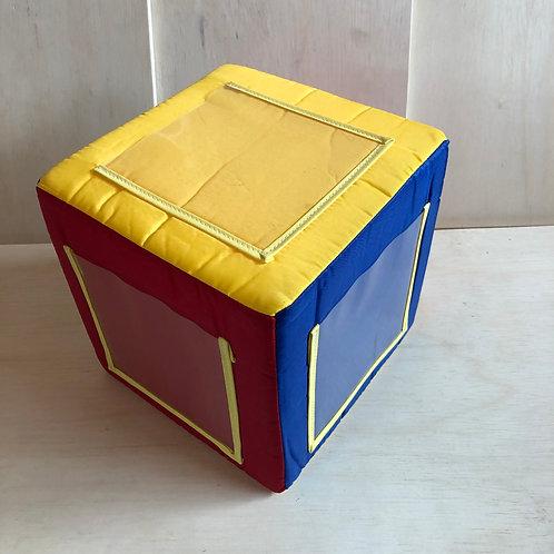 Cubo de espuma - Médio - 12x12x12 cm