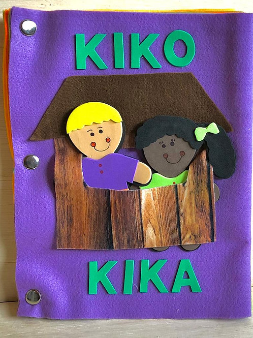 Livro Kiko e Kika