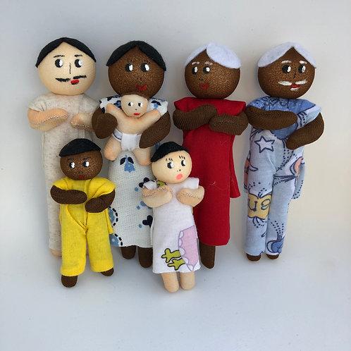 Família Ludoterapêutica - Mista - 7 personagens