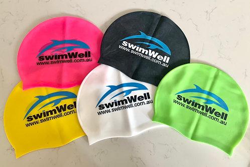 SwimWell Silicone Caps