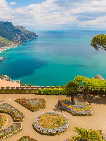 Fantastic View From Villa Rufolo, Ravell