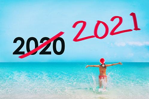 New Year's resolution Swim faster 2021