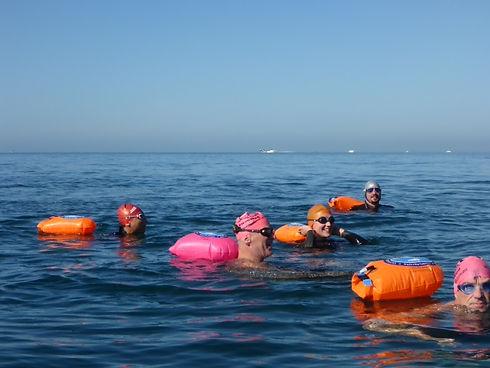 Group swimbuoys
