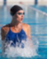 professional swimmer, water splashing, g