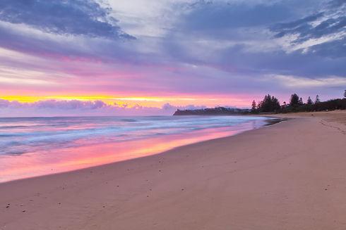 Dicky Beach sunrise in Caloundra on the Sunshine Coast, Australia.jpg