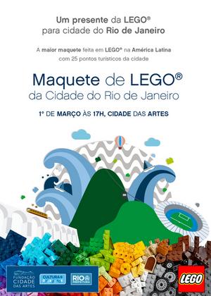 Maquete de LEGO
