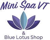 Mini Spa VT & Blue Lotus Shop Logo