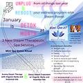 january_steam_detox_promo.mini spa vt and blue lotus shop