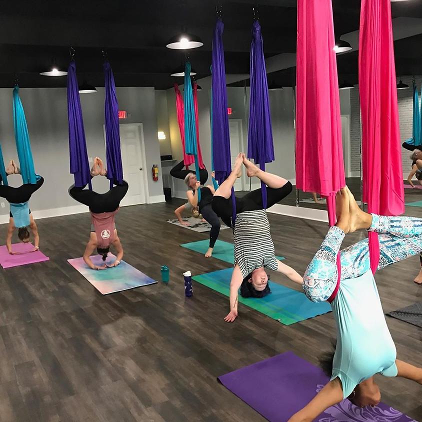 Aerial Yoga 101 Workshop Class #1