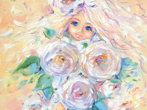 "Картина ""Дочки-цветочки""."