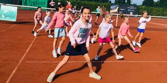 tenniskamp op tennisclub de born