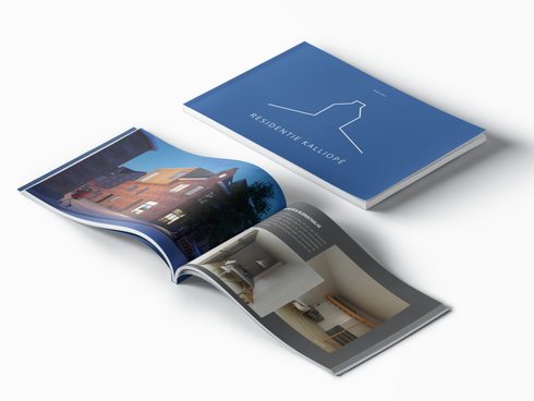 Branding, brochure for real estate project