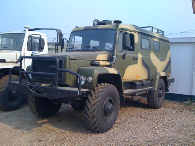 GAZ-330811 WILD BOAR