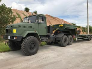 KRAZ-6446 TRANSPORTATION TRUCK