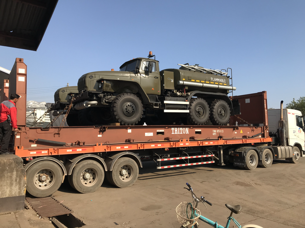 URAL-ATZ OIL TRUCK DIFFERENT SIZE AVAILABLE
