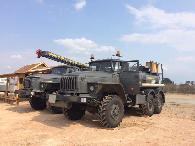 URAL URB-2A2 DRILLING RIGS