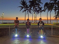 Sunset Glow Hoverboarding Tour