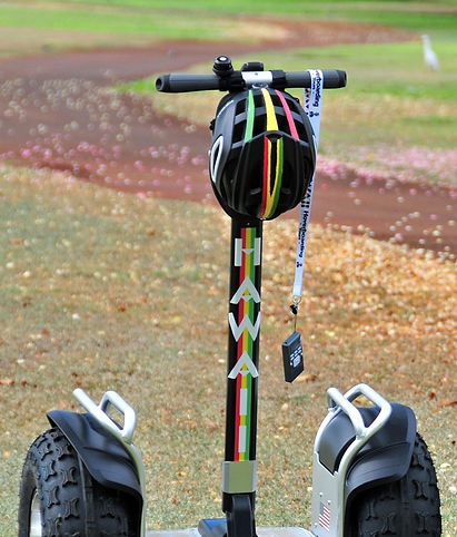 Audio Tour on self-balancing Hawaii Hoverboarding Tours segway-style tour of Waikiki with more