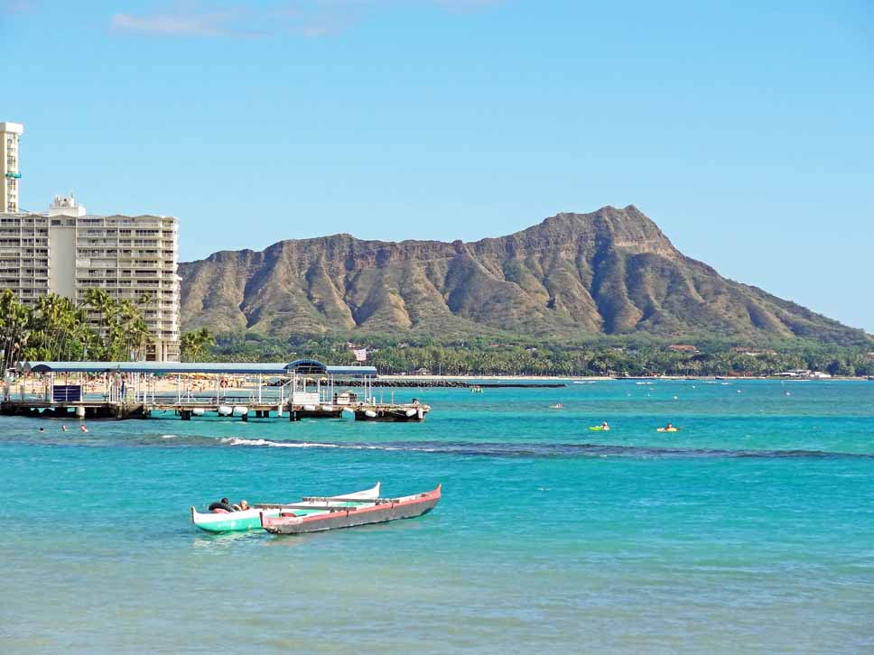 Wonderful views of Diamond Head