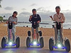 Waikiki Sunset Hoverboarding