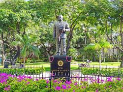King David Kalakaua Statue