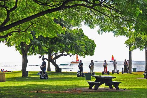 Waikiki's less crowded beauty