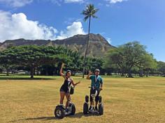 Waikiki all-terrain hoverboard fun