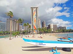Hilton Hawaiian Village and Lagoon