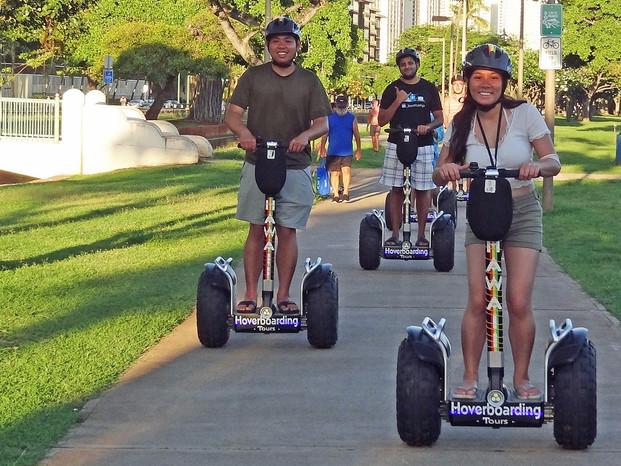 Segway-style Waikiki Guided Tours