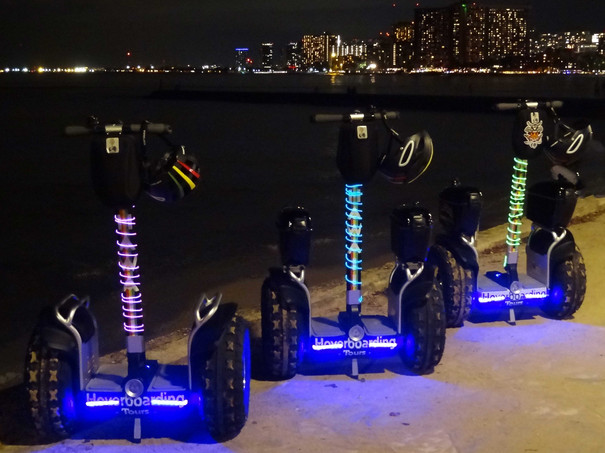 Glowing Sunset Tour Hoverboards