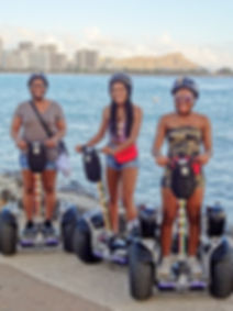 Ala Moana Magic Island Rock'n Ride guided tour by hoverboard