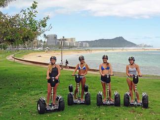 Magic Island Lagoon Hoverboarding Tour