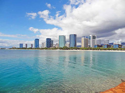 High Rises from Magic Island View