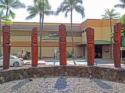 The faces of the Hawaiian God of War