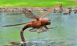 Kapiolani Park Dragonfly Sculpture